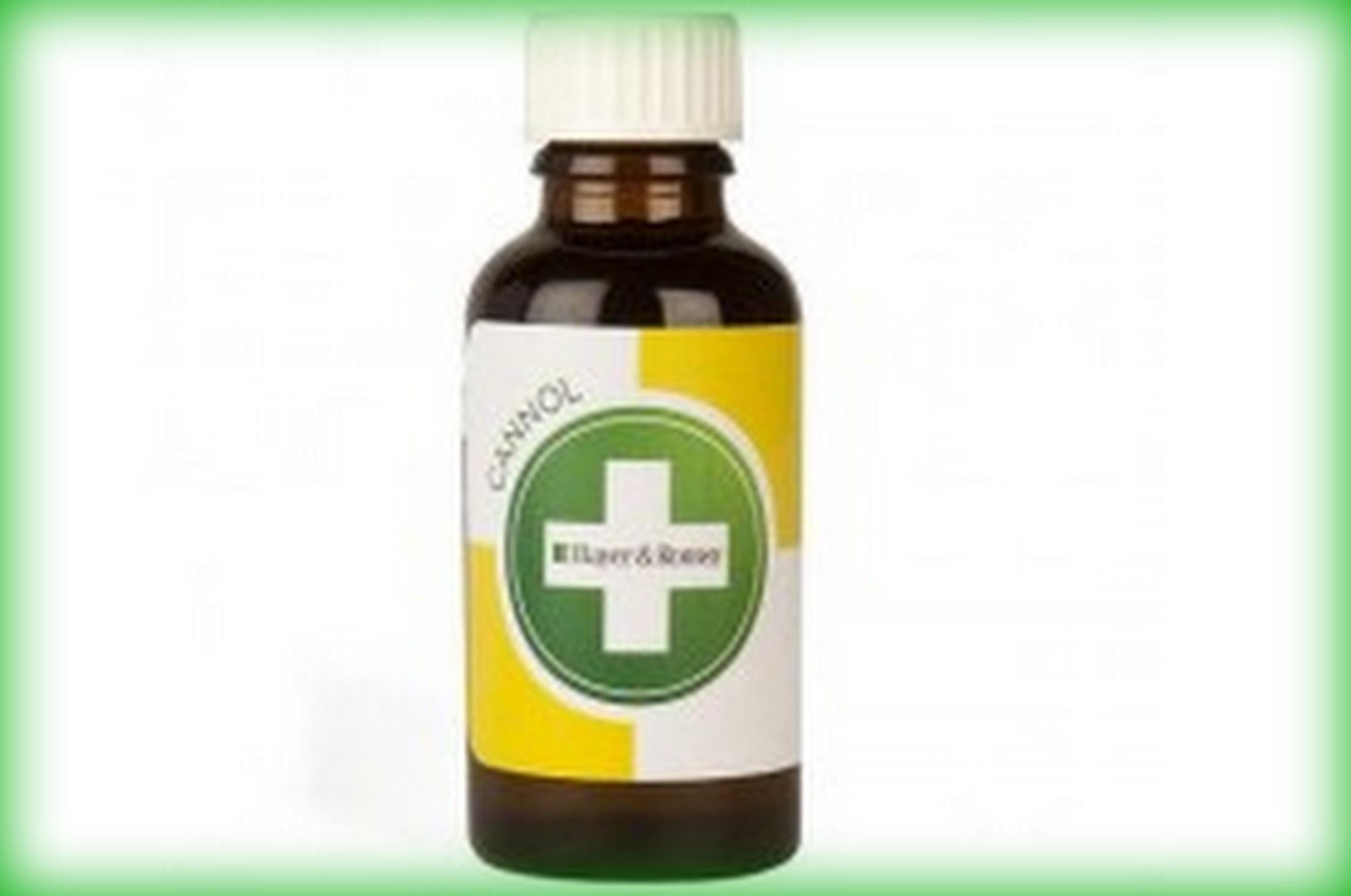 Konopný léčivý olej