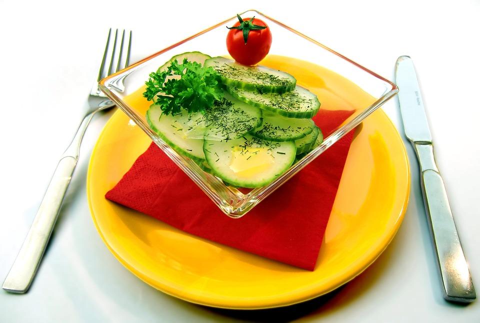 okurkový salat