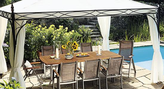 Kupujeme nový zahradní párty stan